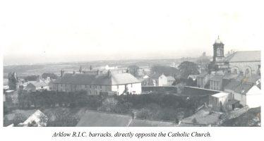 Arklow RIC Barracks   Image: Courtesy of Jim Rees