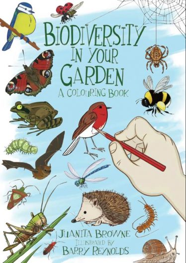 Gardening for Biodiversity Colouring Book