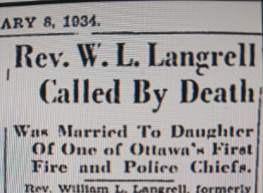 William Langrell, Cappagh. | Image: Ottawa Citizen newspaper.