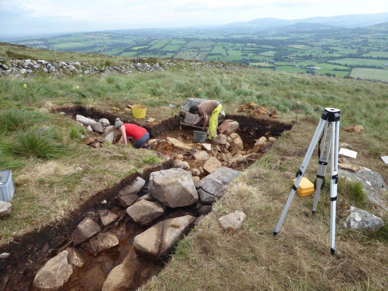 Rathcoran excavation trench 2020 | Alan Hawkes