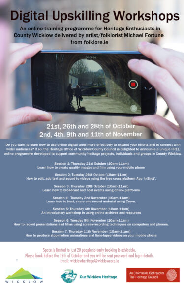 Digital Upskilling for Heritage Enthusiasts!
