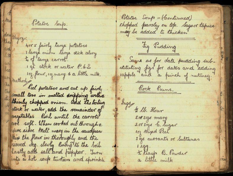 Potato Soup, Fig Pudding and Rock Buns Recipes   Wicklow Co. Co.
