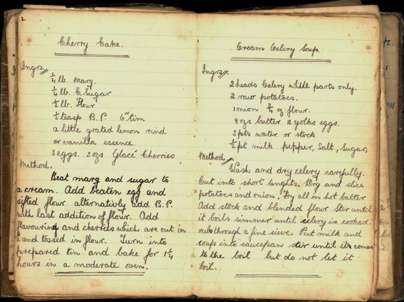 Cherry Bake and Cream Celery Soup Recipes   Wicklow Co. Co.