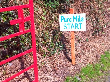 Start of Pure Mile | Wicklow Head Preservation Group