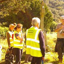 John Tierney and the Volunteers at Glendalough   D. Burns