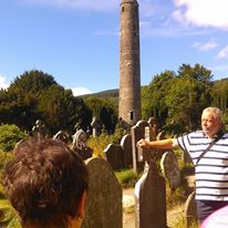 Daily guided tours of the Glendalough Graveyard   D. Burns