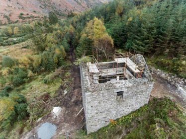 The (New) Crusher House, Barravore, Co. Wicklow. One of the participants in the Adopt a Monument Scheme