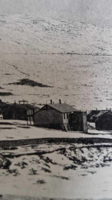 Kilbride Camp under snow
