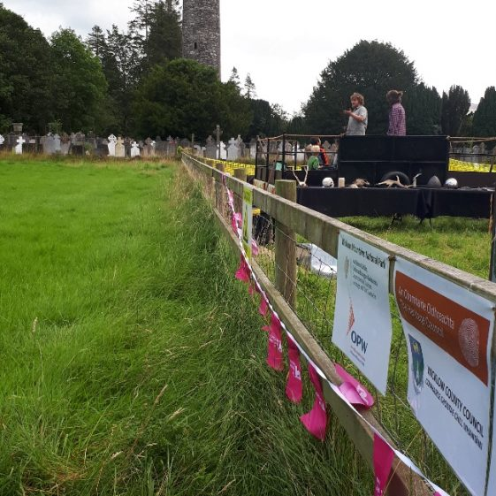 Archaeological Excavation at Glendalough   Wicklow Heritage Office
