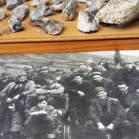 Mining items and memorabilia on display at Glendalough   Wicklow Heritage Office
