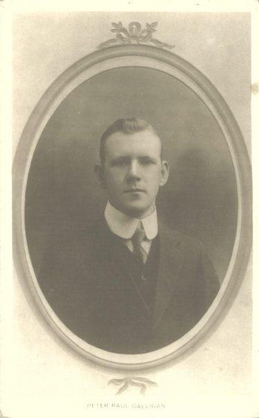 Peter Paul Galligan C. 1912 | Wicklow Co. Co.