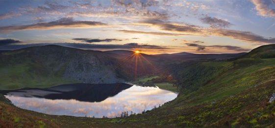 Lough Tay Panorama - Winner Scenic Beauty Category | Lana Galina