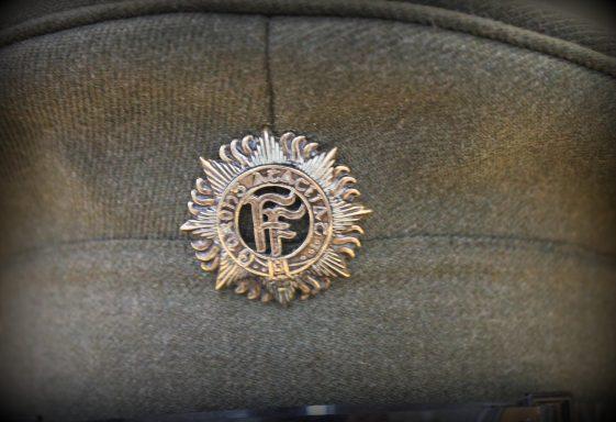 Irish Volunteers Dublin Brigade Cap Badge