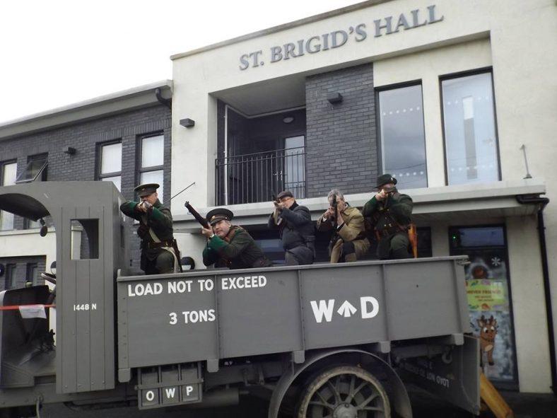 Riflemen in TP Brady's 1915 Napier 3 Ton Truck | Ben Fagan