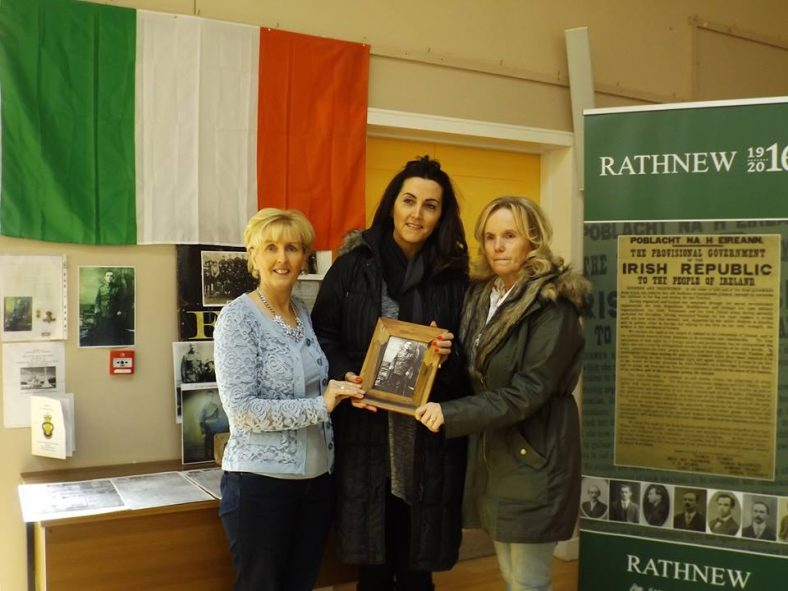 Presentation of Framed Photograph, to Relations of WWI Veteran, Michael Kennedy from Rathnew | Ben Fagan