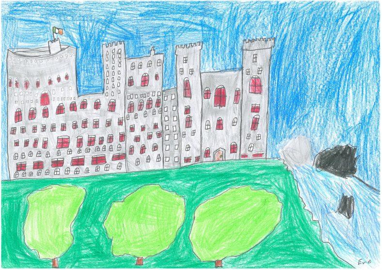 The Black Castle | Evie Woods