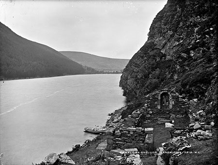 Temple-Na-Skelligs, Glendalough   National Library of Ireland
