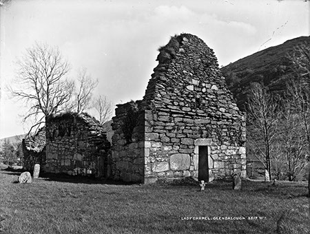 Lady Chapel, Glendalough   National Library of Ireland