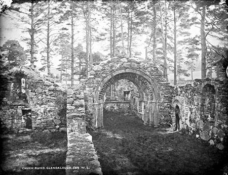 Church Ruins, Glendalough   Wicklow Co. Co.