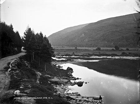 Upper Lake, Glendalough   National Library of Ireland
