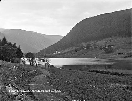 Lower Lake, Glendalough   National Library of Ireland