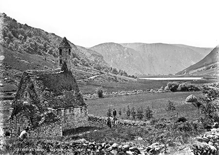 St. Kevin's Chapel, Glendalough   National Library of Ireland