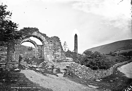 Archway, Glendalough   National Library of Ireland