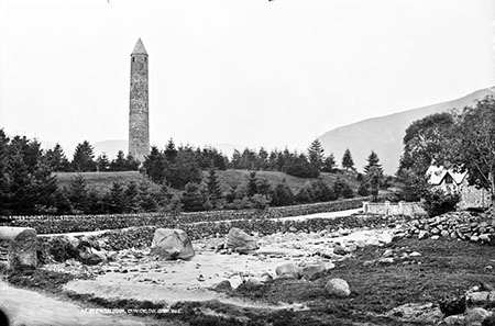 At, Glendalough, Co. Wicklow   National Library of Ireland