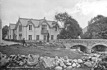 Royal Hotel, Glendalough   National Library of Ireland