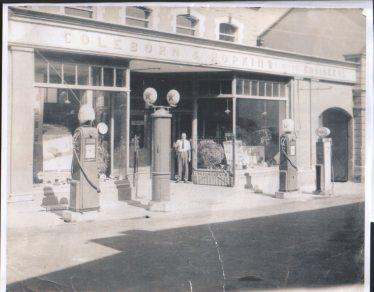 Coleburn & Hopkins Garage on Abbey Street (now AIB)