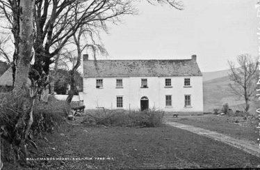 Billy Byrne's Residence - Ballymanus House | NLI French 1865-1914