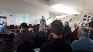 Ricky Whelan from BWI gave a talk on swifts as part of the community workshop held in Baltinglass Library on May 10th 2019 | D. Burns