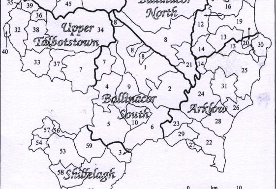 Dunlavin and Donard - A Brief History of Some Civil Parishes in the Barony of Lower Talbotstown