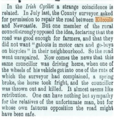 Kilcoole Road Repairs in 1903 | Barry Dock News