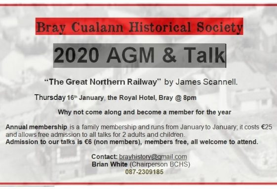 Become a Member of Bray Cualann Historical Society