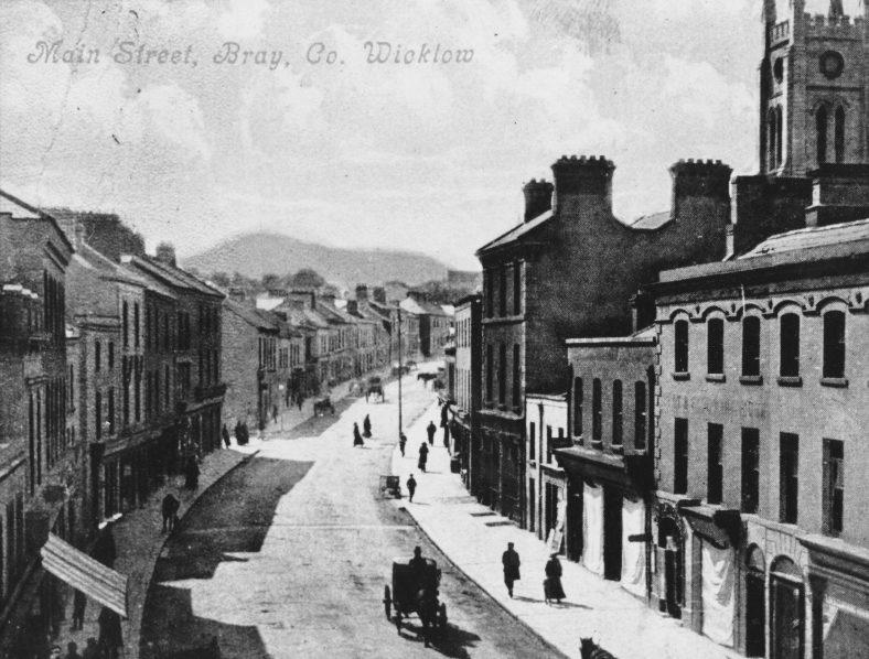 Bray Main Street 1900   Photo: Wicklow County Library