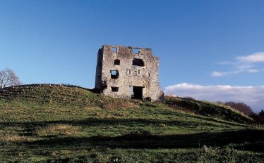Alternative view of Newcastle Castle | Wicklow County Council 2007
