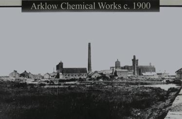 Arklow Chemical Works c.1900 | Pat Power - Kynoch Walk Information Board