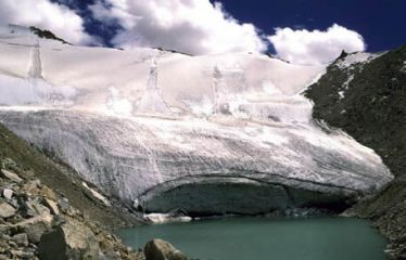 The Younger Dryas corrie glacier may have looked like this one? (5300m, Himalaya, Ladakh).