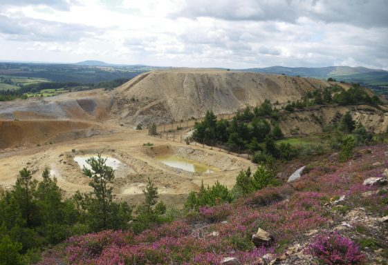 Mining in Wicklow
