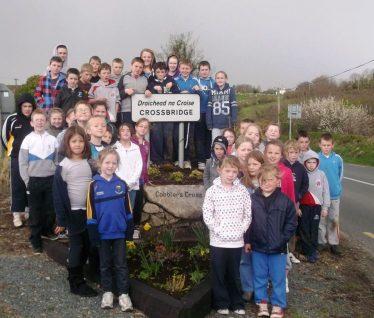 Students at Crossbridge   Crossbridge Development Committee