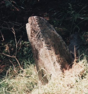 Crossoona Ogham Stone