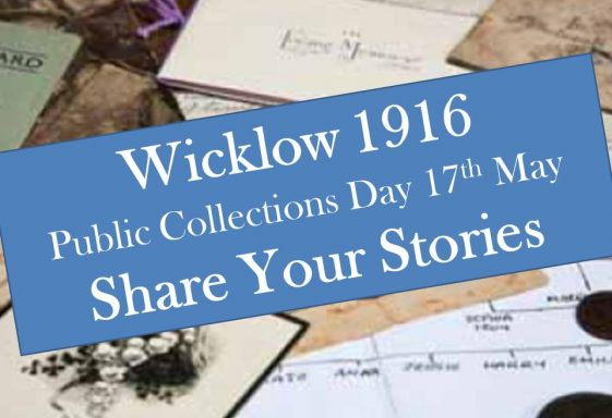 Wicklow 1916 Public Collections Day