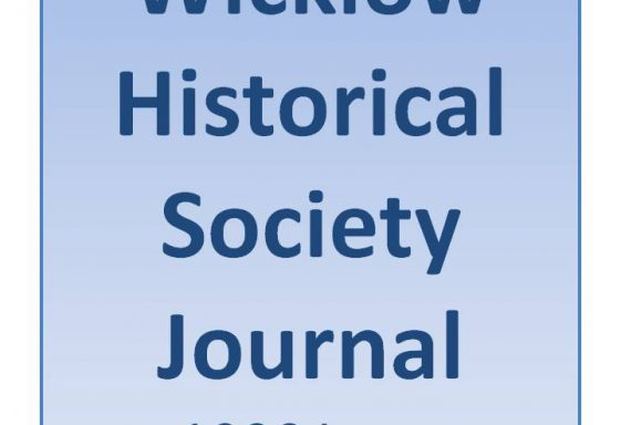 1990 WICKLOW HISTORICAL SOCIETY JOURNAL