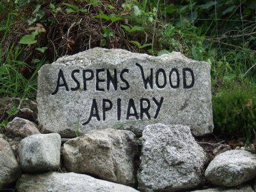 Stone Sign   PURE Mile