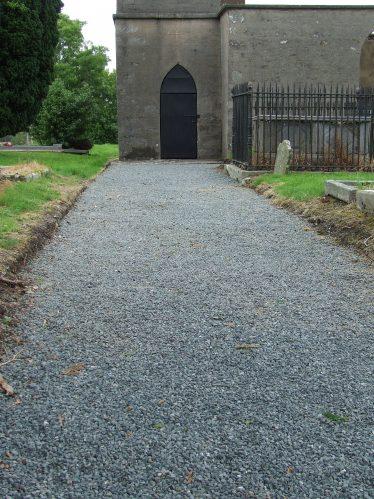 Entrance Drive to Derralossary Church   PURE Mile