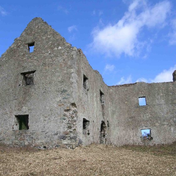 Fortified house at Killincarrig   Christiaan Corlett
