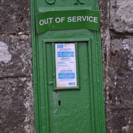 Old Postbox along the way | D. Burns
