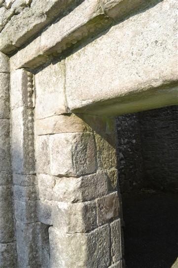 Dooorway detail at Aghowle church | D. Burns