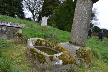 A water font in the graveyard is reputed to cure ailments | D. Burns
